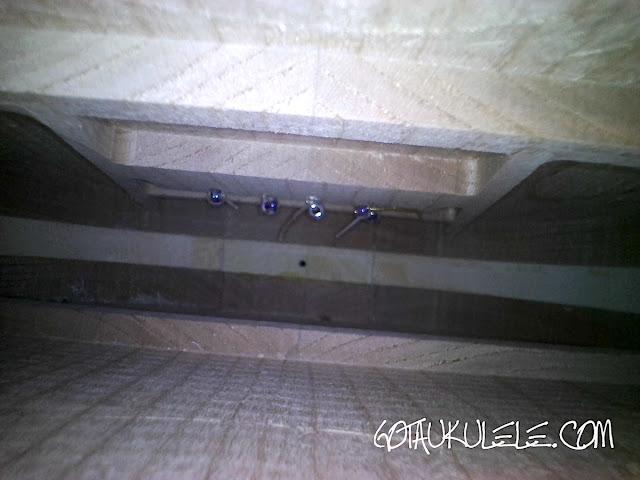 Bonanza 5 String Tenor Ukulele inside