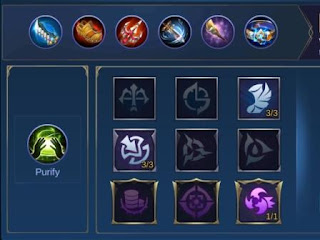 hero career items