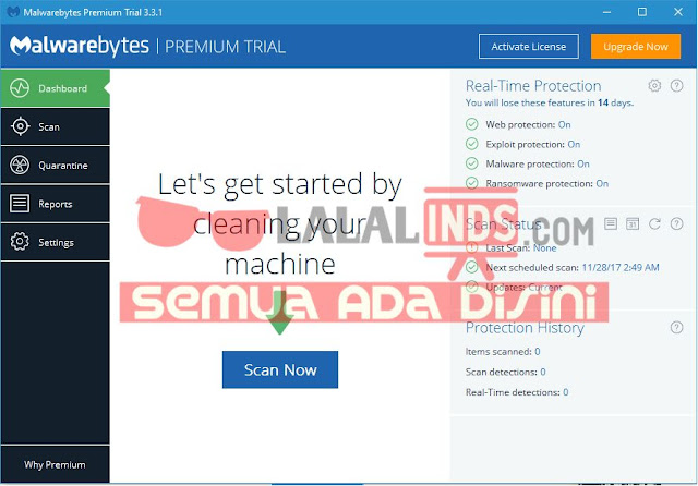 Download Malwarebytes Anti-Malware 3.3.1.2183 Terbaru Gratis