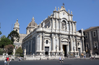 Vaccarini spent more than half his life working on the  restoration of Catania's Duomo