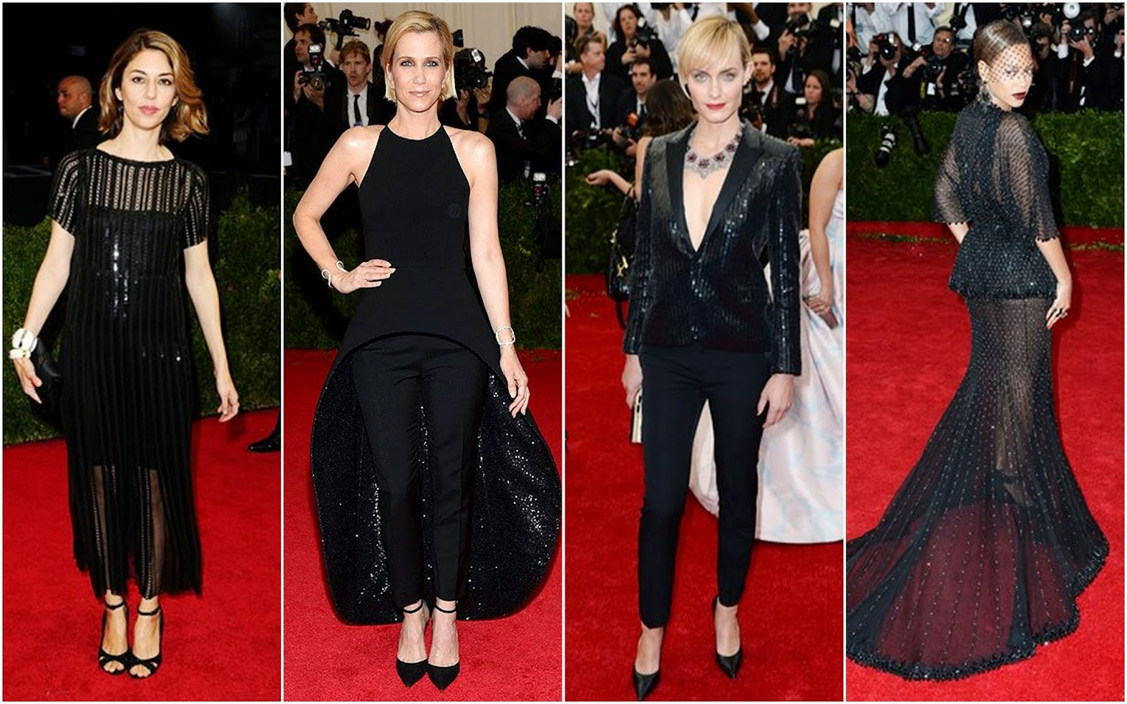 Met Gala 2014 White Tie And Decorations Fashion Photo