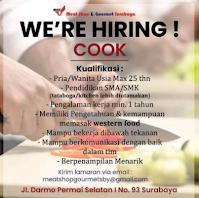 We Are Hiring at Meat Shop and Gourmet Surabaya Juni 2021