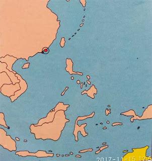 Gambar Peta letak negara Hong Kong