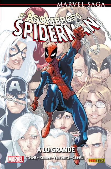 """Reseña de """"Marvel Saga 67: El Asombroso Spiderman 31 - A lo grande"""" de Dan Slott y Humberto Ramos - Panini Cómics"""