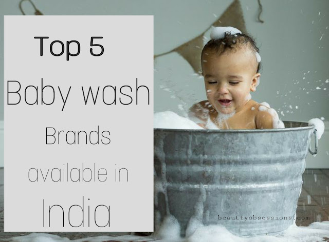 Top 5 Baby Body Wash Brands Available in India