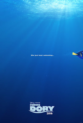 Finding Dory She Just Kept Swimming Teaser Poster