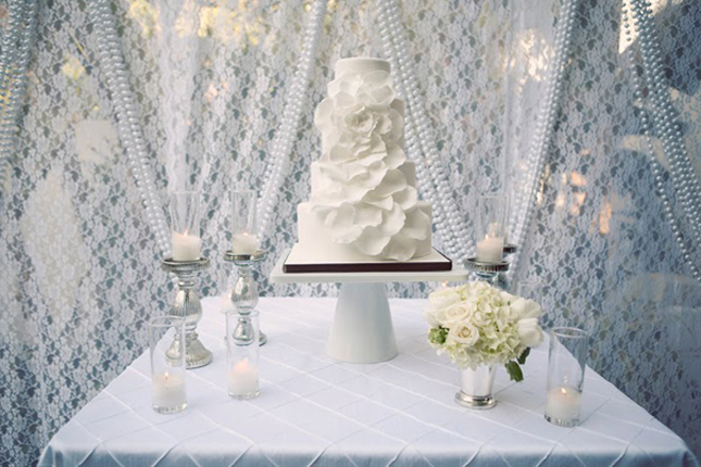 15 Stunning Cake Table Ideas - Belle The Magazine