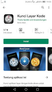 Aplikasi Pengunci Layar Android Unik Model Brangkas