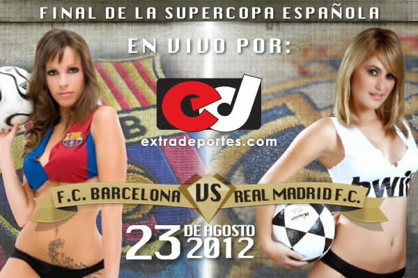 Barcelona vs Real Madrid Supercopa 2012 (1)