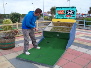 Arnold Palmer Putting Mini Golf course in Great Yarmouth, Norfolk