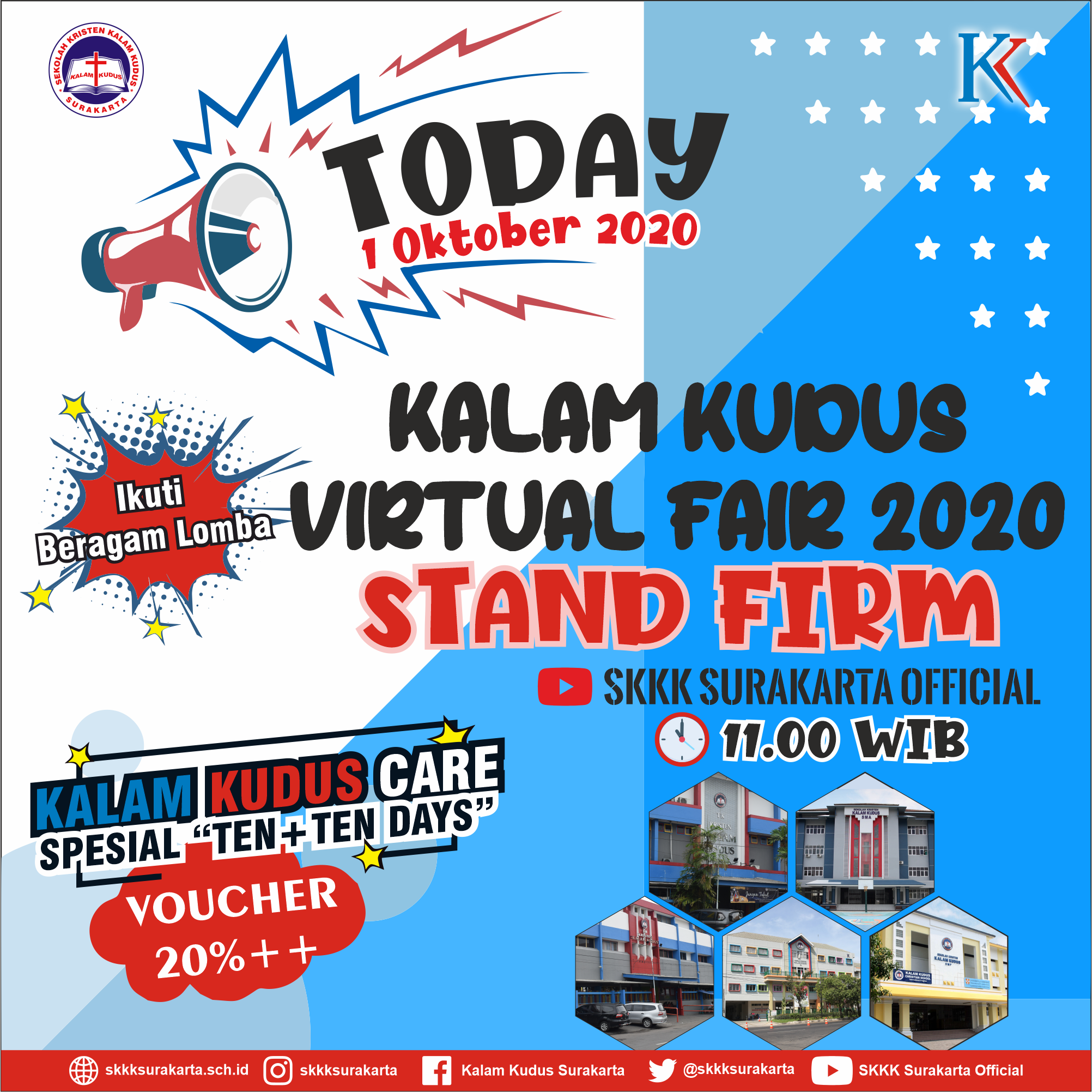 "Kalam Kudus Virtual Fair ""Stand Firm"" - 1 Oktober 2020"