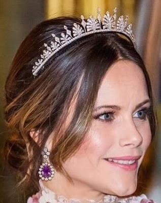 diamond palmette tiara princess sofia sweden