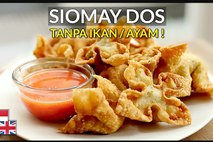 The sauce is IMPORTANT! Dosage Fried Siomay Recipe: Chewy, Savory, WITHOUT Fish & Chicken.