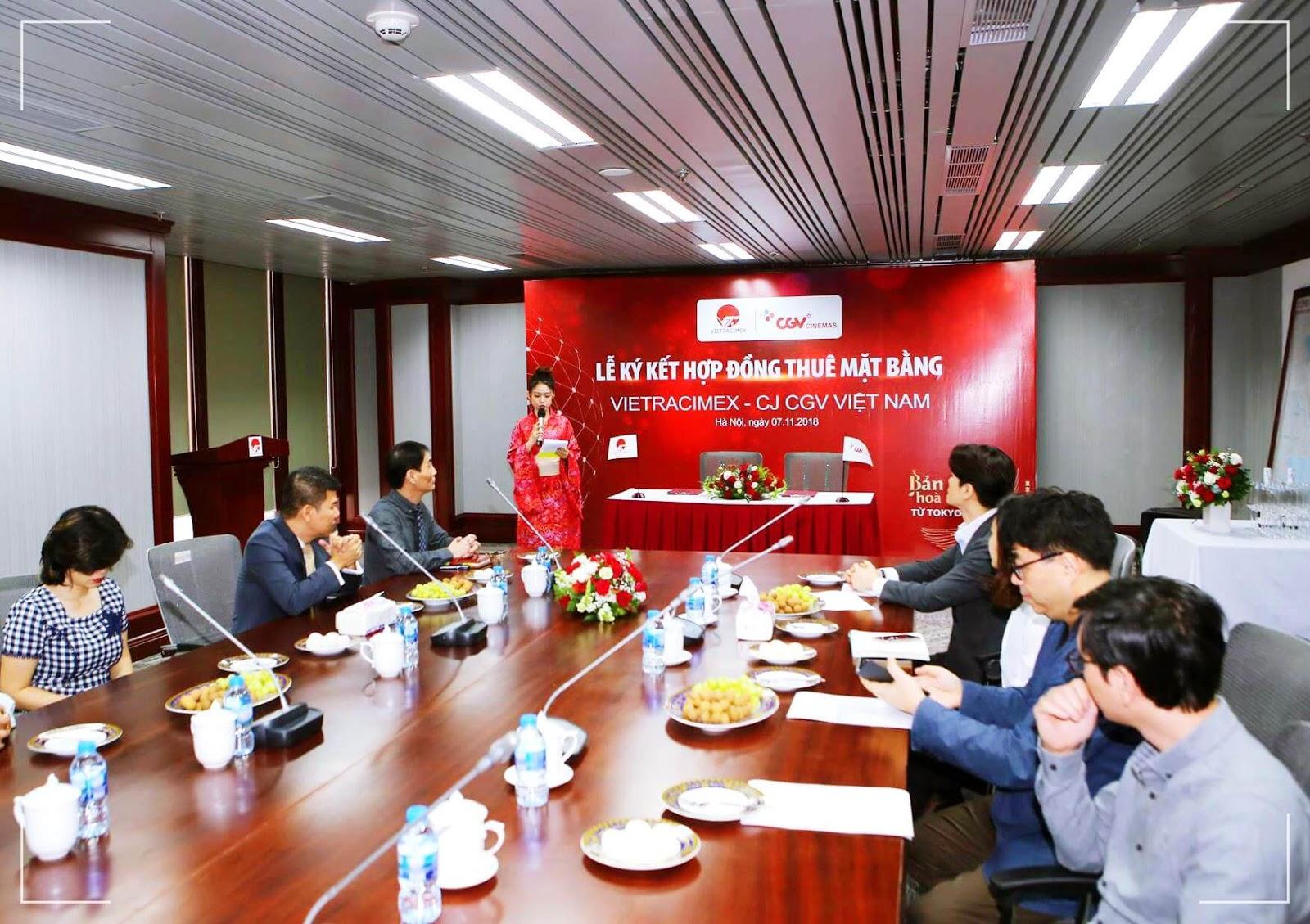 Phát biểu tại buổi lễ ký kết hợp đồng dự án 201 Minh Khai