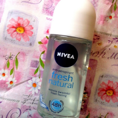 Recenzja: Nivea Fresh Natural roll-on
