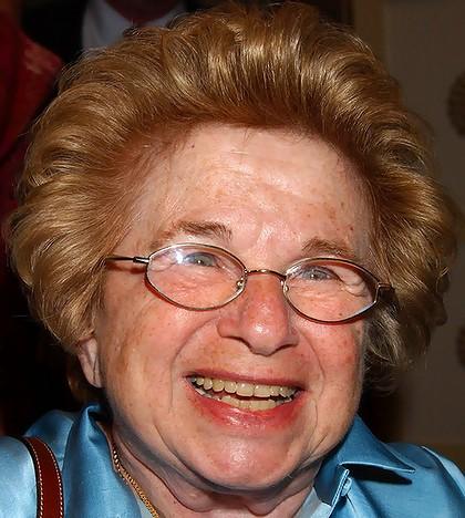 Dr Ruth Westheimer Sniper