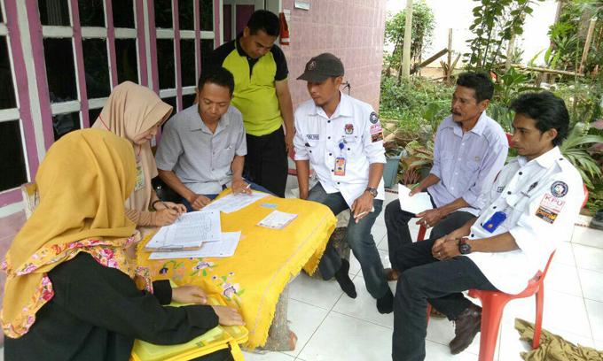 Coklit Serentak, PPK Libureng Target 20 Rumah Dihari Pertama