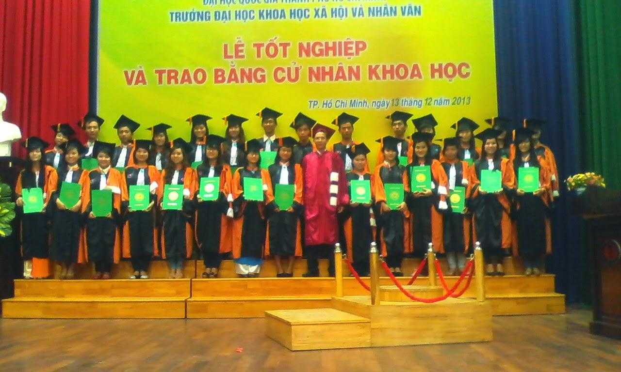 ngày lễ nhận bằng tốt nghiệp của khoá k30