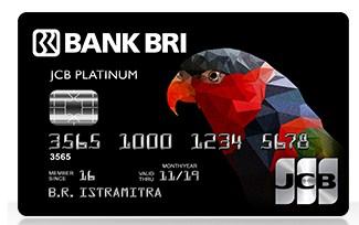 kartu kredit BRI JCB Platinum