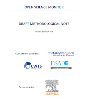 Draft methodological note. Open Science Monitor