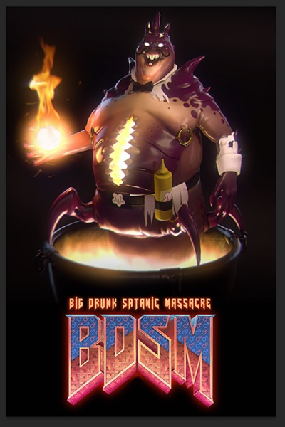 โหลดเกมส์ BDSM: Big Drunk Satanic Massacre