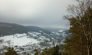 Blick vom Spitzberg nach Gräfenthal