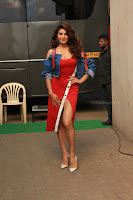 Jacqueline Fernandez Spicy Bollywood Actress in Red Dress Spicy  Exlcusive Gallery Pics (18).JPG
