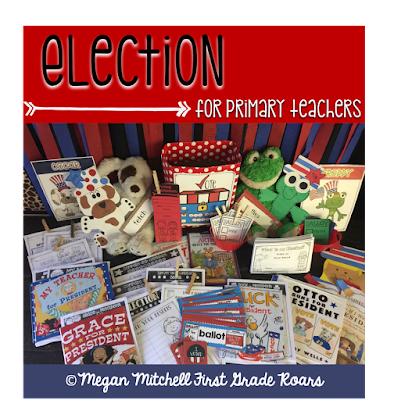 Election... A Fun Way to Teach to Little Learners - First Grade Roars!