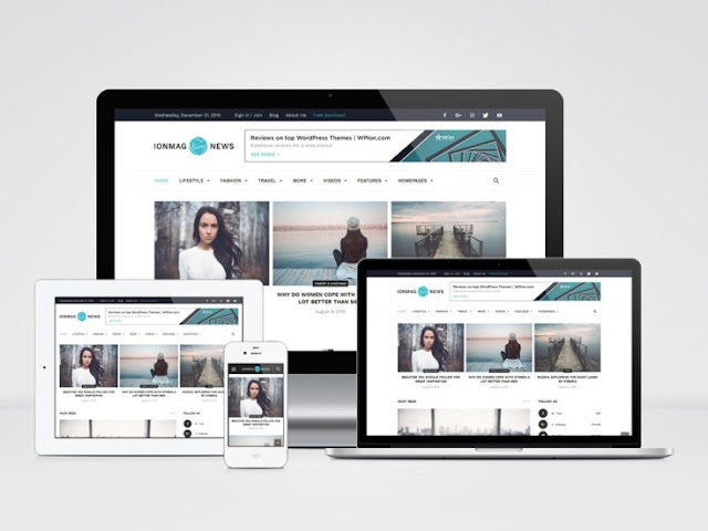ionMag WordPress Theme Free Download 2019