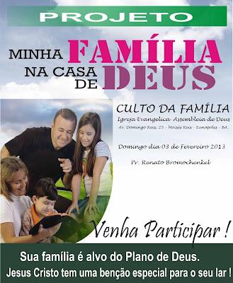 Pastor Renato Bromochenkel Culto Da Família Dia 03 De