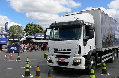 Quarta etapa da Gincana do Caminhoneiro chega a São Paulo para a disputa do IVECO Tector