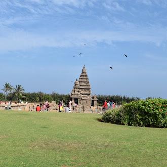 Mamallapuram Shore Temple - மாமல்லபுரம் கடற்கரை கோயில்