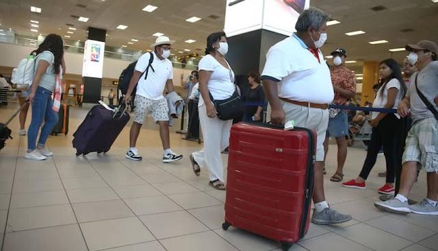 Provincias que está permitido viajar por vía aérea o terrestre tras cuarentena focalizada