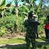 Dukung Program Pemerintah, Babinsa Dampingi Pengukuran Tanah Tim Badan Pertanahan Nasional