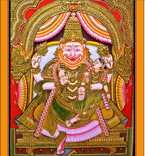 Sri Lakshmi Narasimhar: What are the 16 upacharam that you