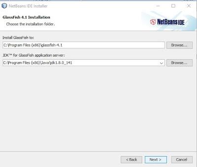 langkah-langkah instal netbeans lengkap dengan java jdk