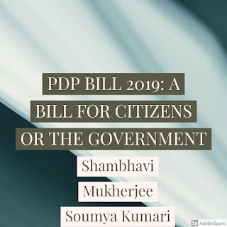 PDP BILL 2019: A BILL FOR CITIZENS OR THE GOVERNMENT?
