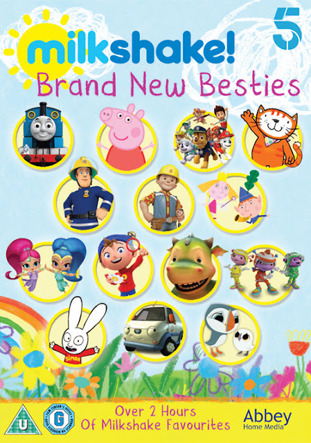 Milkshake Brand New Besties DVD