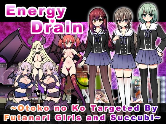 [H-GAME] Energy Drain ~Otoko no Ko Targeted By Futanari Girls and Succubi~ English
