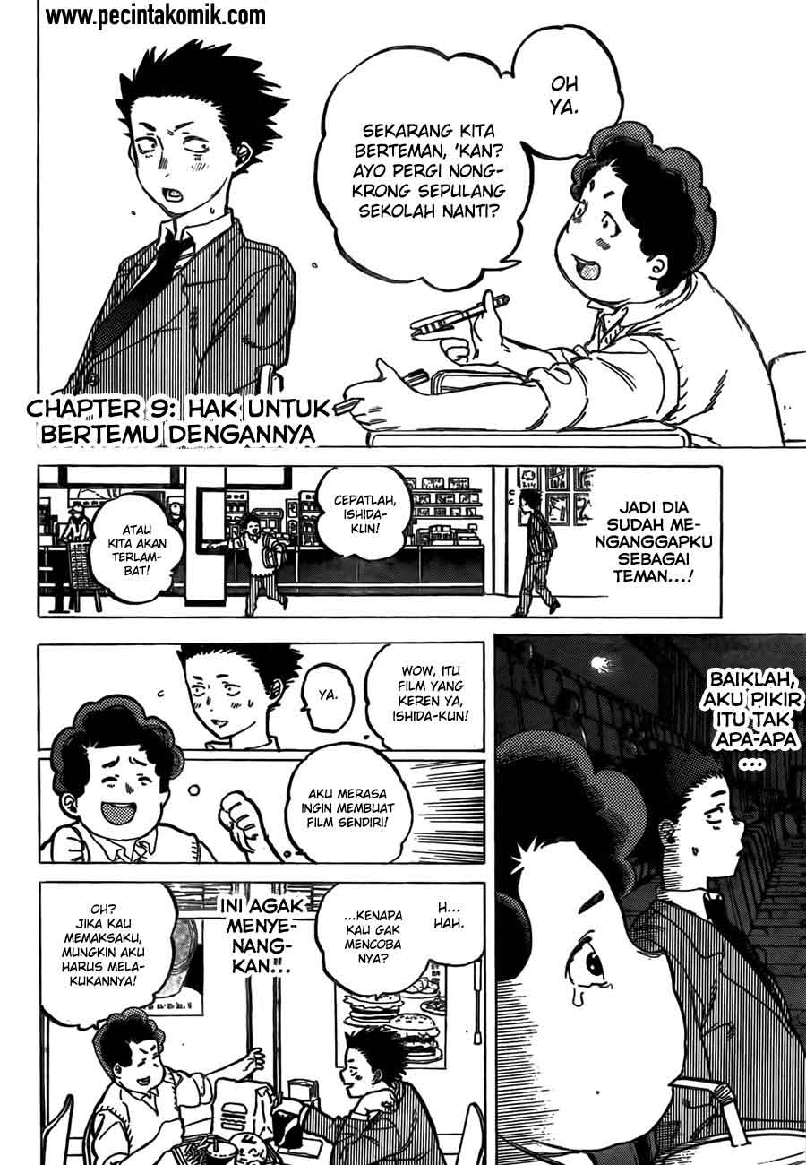 Koe no Katachi Chapter 09-3