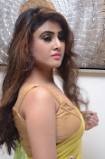 Sony Charista sizzling look in saree-thumbnail-16