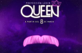 QUEEN: Show Laser Planetario de Bogota