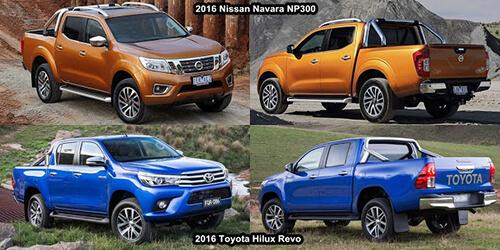 nissan navara toyota hilux 3 muaxegiatot vn - So sánh xe bán tải Toyota Hilux 2019 và Nissan Navara 2019