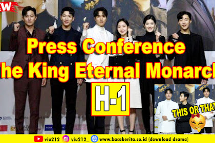 Press Conference The King Eternal Monarch (H-1)