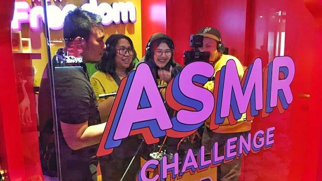 ASMR Challenge Im3 Ooredoo Fanfest 2019 Yogyakarta
