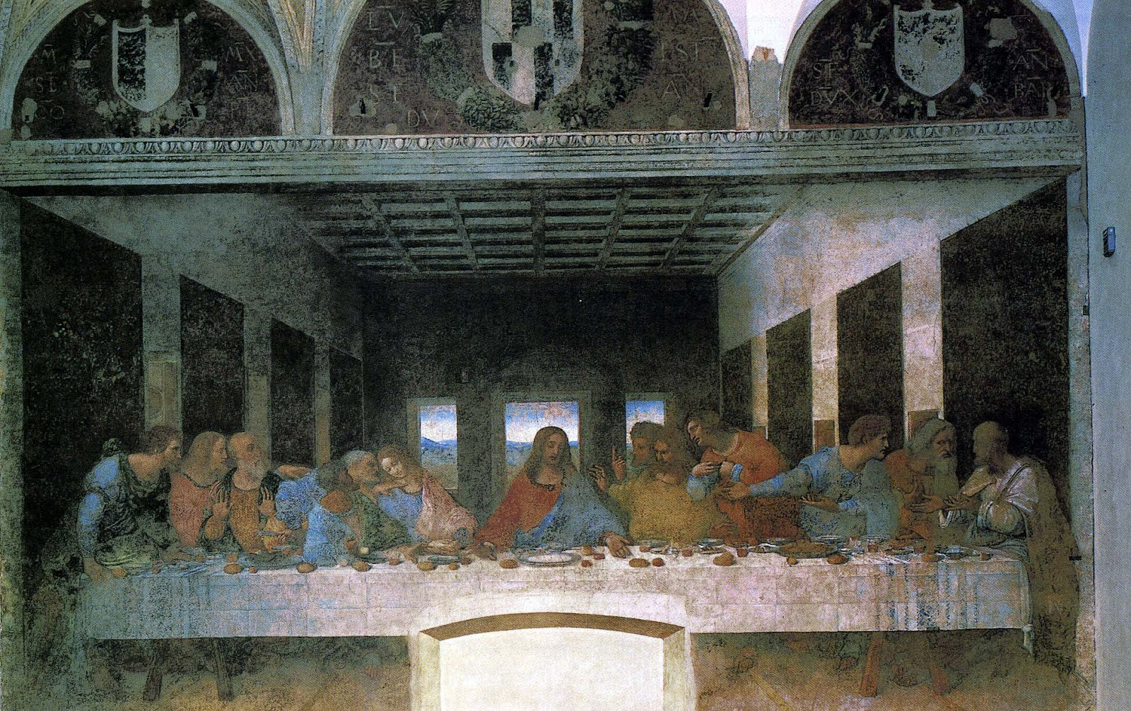 Professor Blanchard's Class Blog: The High Renaissance Da Vinci Last Supper Restored