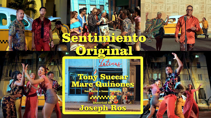 Tony Succar - Marc Quiñones - Haila - Issac Delgado - ¨Sentimiento original¨ - Videoclip - Director: Joseph Ros