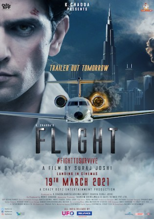 Flight 2021 Pre DVDRip 350MB Hindi Movie Download 480p Watch Online Free bolly4u