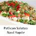 Patlıcan Salatası Nasıl Yapılır