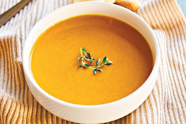 Supa crema de dovleac (copt) pentru bebelusi